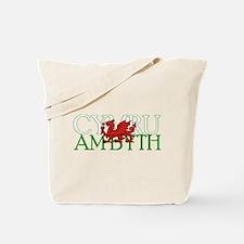 Cymru Am Byth Tote Bag