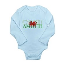 Cymru Am Byth Long Sleeve Infant Bodysuit
