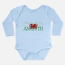 Cymru Am Byth Long Sleeve Infant Bodysuit