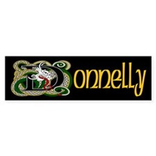 Donnelly Celtic Dragon Bumper Bumper Sticker