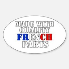 Quality French Parts Decal