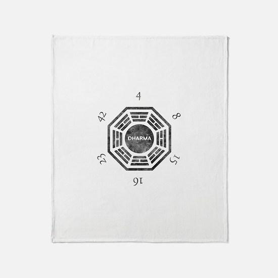 Unique Dharma Throw Blanket