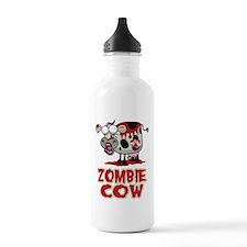 Zombie Cow Sports Water Bottle