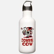 Zombie Cow Sports Water Bottle