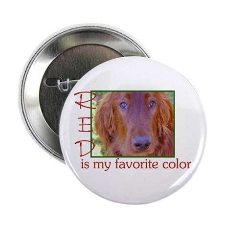 "Irish Setter 2.25"" Button"