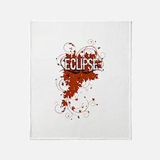 Grunge Eclipse Throw Blanket