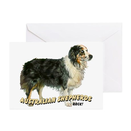 Aspen A.Shepherds. Rock Greeting Cards (Pk of 10)