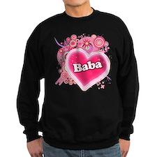 Baba Heart Art Sweatshirt