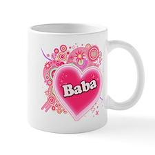 Baba Heart Art Mug