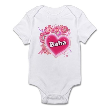 Baba Heart Art Infant Bodysuit