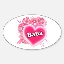 Baba Heart Art Decal