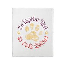 I'd Imprint That Throw Blanket
