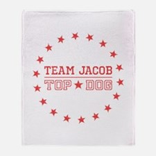 Team Jacob Top Dog Throw Blanket