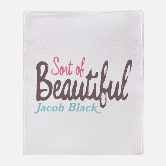Sort of Beautiful Throw Blanket