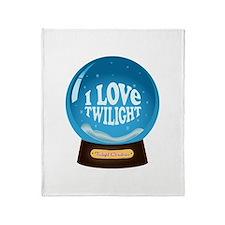 Twilight Snow Globe Throw Blanket