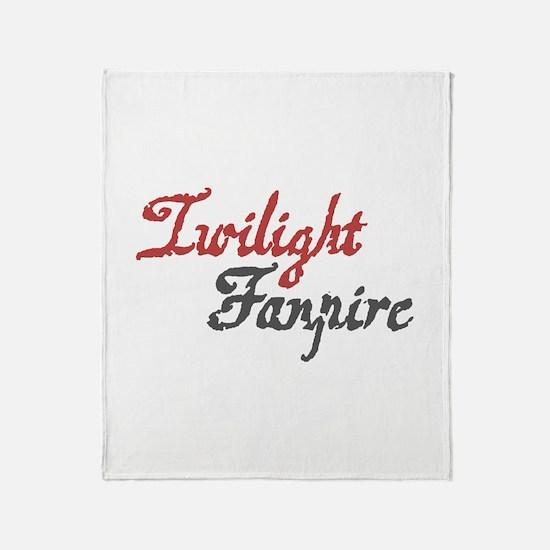 Twilight Fanpire Throw Blanket