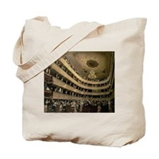 Cute Concert hall Tote Bag