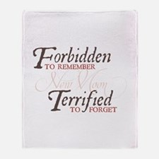 Forbidden to Remember Throw Blanket