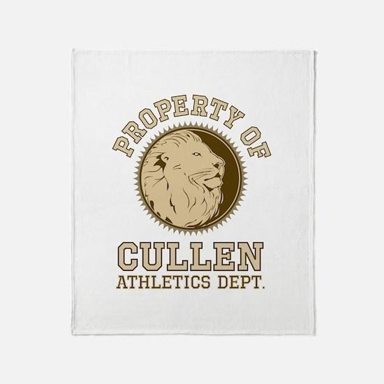 Cullen Athletics Throw Blanket