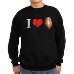 I *heart* pysanka Sweatshirt (dark)