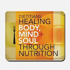Healing Through Nutrition Mousepad