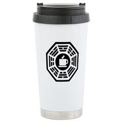 Dharma Coffee Stainless Steel Travel Mug