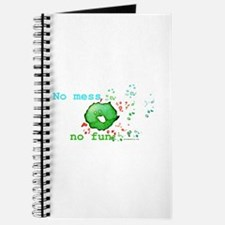 No Mess No Fun Journal