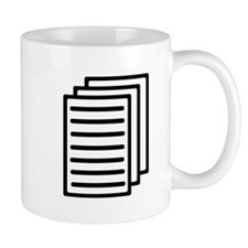 Documents Small Mug
