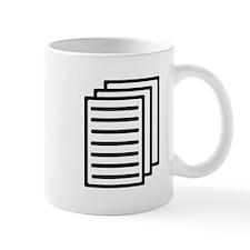 Documents Small Mug