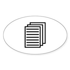 Documents Decal