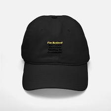 Unique Retirement Baseball Hat