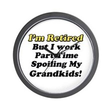 Cute Retirement party Wall Clock