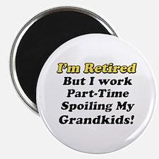 Cute Funny retirement Magnet