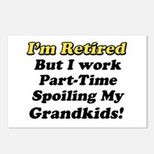 Cute Retirement gag Postcards (Package of 8)