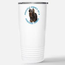 Proudly Owned Yorkie Travel Mug