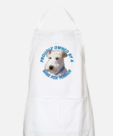 Proudly Owned Wire Fox Terrie Apron