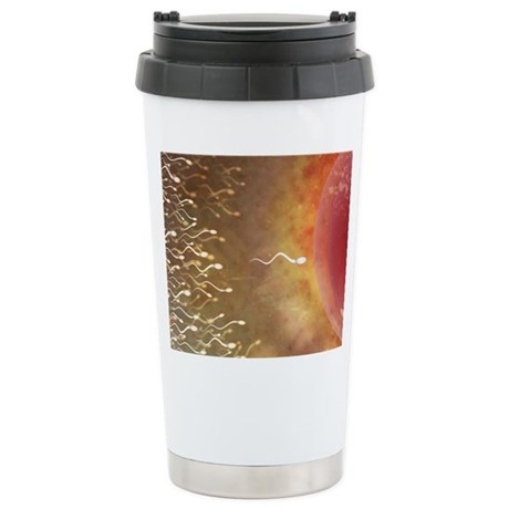 Conceptual Art Stainless Steel Travel Mug