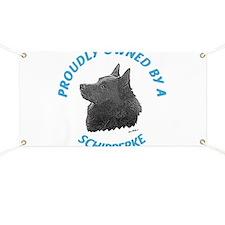 Proudly Owned Schipperke Banner