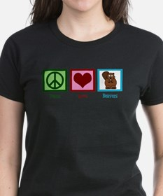 Peace Love Beavers Tee