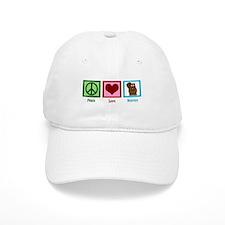 Peace Love Beavers Baseball Cap