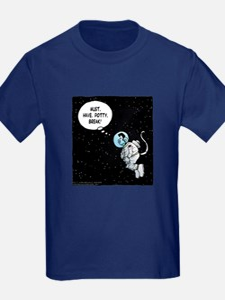 No Potty Breaks In Space! T