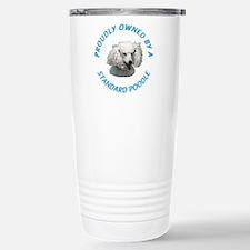 Proudly Owned Poodle Travel Mug
