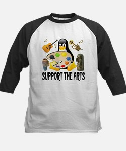 Support The Arts Cute Penguin Tee