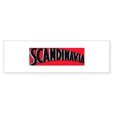 The Scandinavia Bumper Sticker