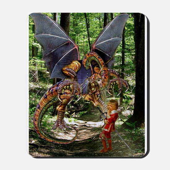 The Jabberwocky Mousepad