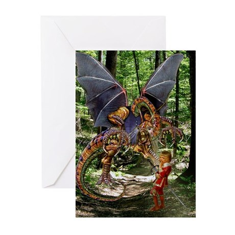 The Jabberwocky Greeting Cards (Pk of 10)