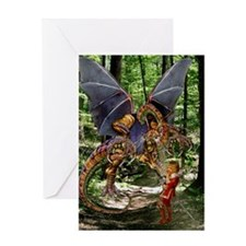 The Jabberwocky Greeting Card