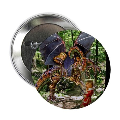 "The Jabberwocky 2.25"" Button (10 pack)"