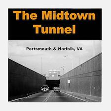 """""""Midtown Tunnel"""" Tile Coaster"""