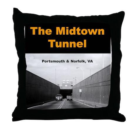 """""""Midtown Tunnel"""" Throw Pillow"""
